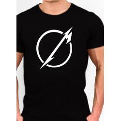 Camiseta METALLICA logo M en circular