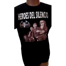 Camiseta Héroes Del Silencio, logo Senderos de Traición