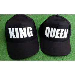 GORRAS KING Y QUEEN EL PACK POR 9,95€