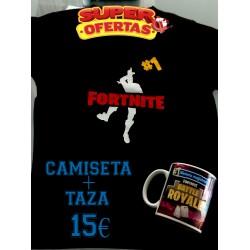 Camiseta FORTNITE + TAZA OFERTA 15€ Pringao Victoria Magistral
