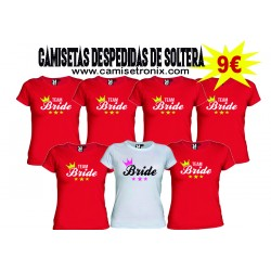 Camiseta Despedida de Soltera Team Bride 9€