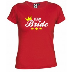 Camiseta Despedidas de Soltera Team Bride 9€