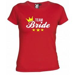 Camiseta Despedida de Soltera Team Bride 9€