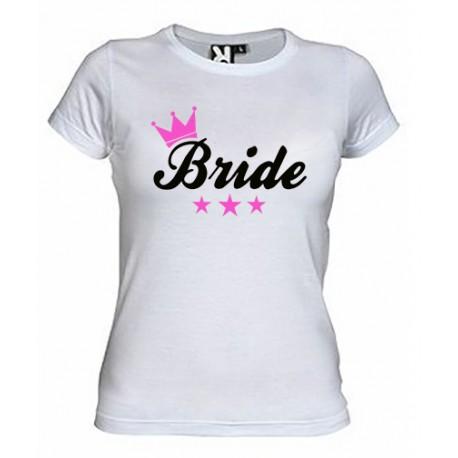 Camiseta Despedidas de Soltera Bride  - LA NOVIA -9€