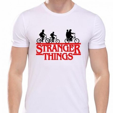 Camiseta STRANGER THINGS bicicletas 10€