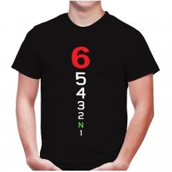 Camiseta MOTERO marchas de moto 10€