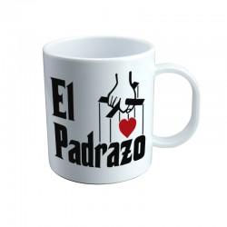 Taza EL PADRAZO estilo El Padrino 7€