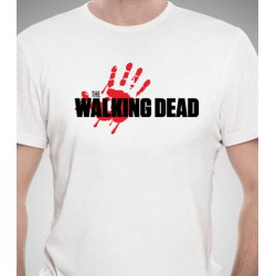Camiseta de The Walking Dead Blanca
