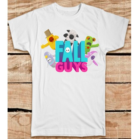 Camiseta Fall Guys barata niños 9€