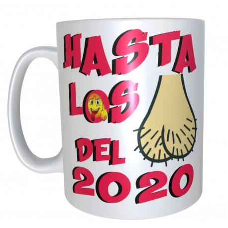 Taza Hasta los huevos del 2020  por 7€