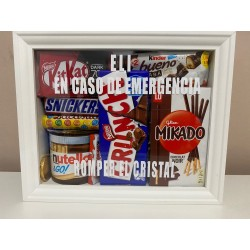 Kit de Emergencias de chocolate para regalar