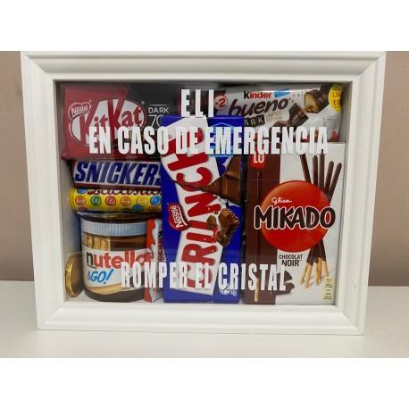 Kit de Emergencias de chocolate para regalar