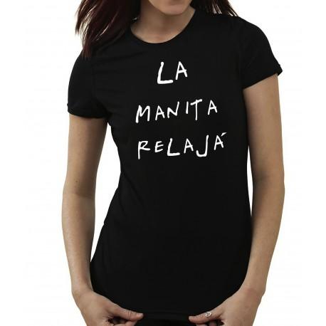 Camiseta LA MANITA RELAJÁ por 10€