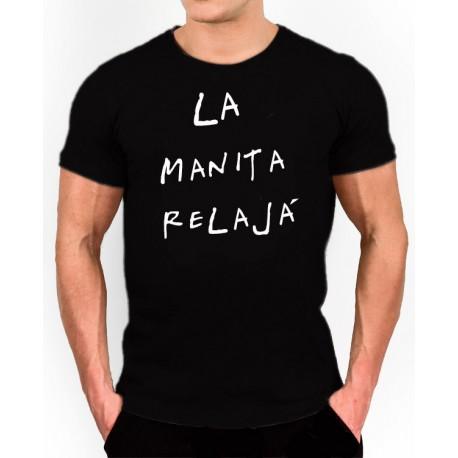 Camiseta LA MANITA RELAJÁ por 10€ UNISEX
