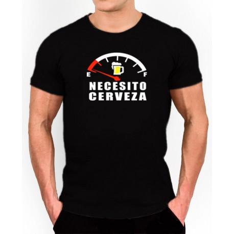 Camiseta Necesito Cerveza 9,95€. Camiseta Cerveceros