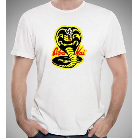 Camiseta logo  Cobra Kai por 10€ UNISEX