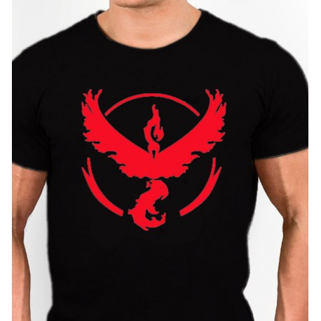 Camiseta Pokemon Go equipo valor
