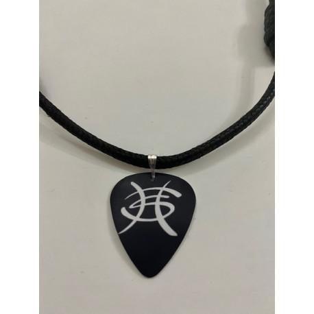 Colgante Púa de Guitarra Héroes del Silencio logo Avalancha