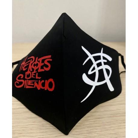 Mascarilla Héroes del Silencio 5€ logo Avalancha
