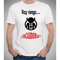 Camiseta Friki Vengo Encabronao