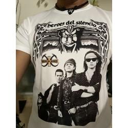 Camiseta Héroes Del Silencio nuevo estilo