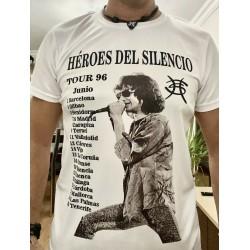 Camiseta Héroes Del Silencio Gira Avalancha