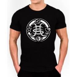 Camiseta Héroes Del Silencio, logo modificado una mezcla del antiguo y del Tour 2007