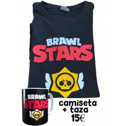 Camiseta BRAWL STARS + TAZA OFERTA 15€ Pringao Victoria Magistral