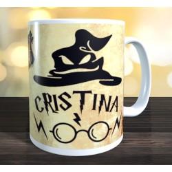 Taza Harry Potter personalizada con nombre