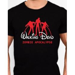 Camiseta estilo Friki deThe Walking Dead