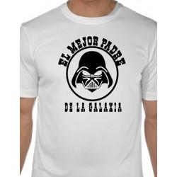 Camiseta El Mejor Padre dela Galaxia