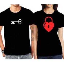 Camiseta Llave corazón para chico