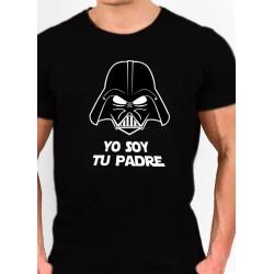 Camiseta barata estilo Friki Star Wars YO SOY TU PADRE