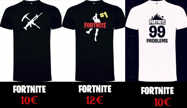 Camisetas de Fortnite - Videojuegos